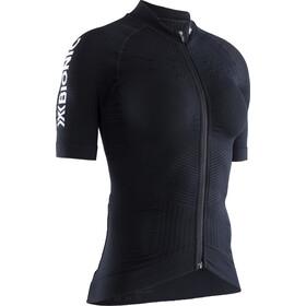 X-Bionic Effektor G2 Maillot de cyclisme Manches courtes Zip Femme, black melange